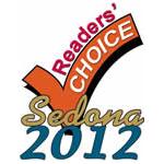Sedona reader's choice 2012